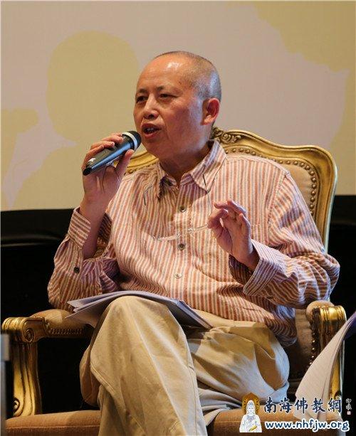 中国梵语专家、北京大学东方研究院院长王邦维教授发言